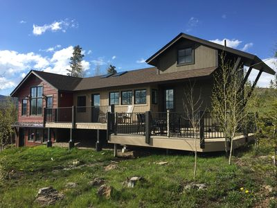 Photo for Grand Lake Mountain Home with Incredible views and privacy for the entire family