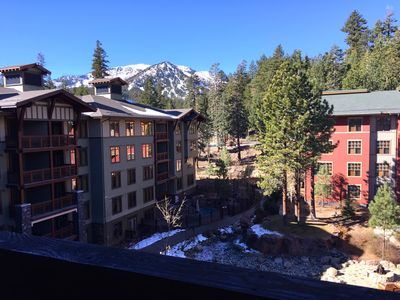 Photo for Village Top Floor Lincoln House - Great 2 Bedroom With View of Mammoth Mountain