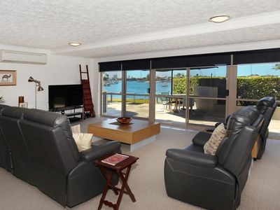 Photo for A very welcoming 4 bedroom, family friendly, waterfront unit, save $80 January 2018