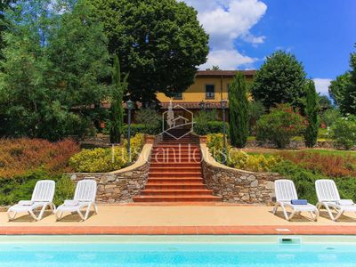 Photo for Villa Paola close to Lucca with private pool and private tennis court
