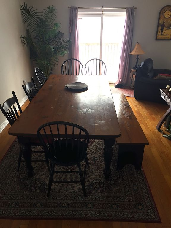 Merveilleux Horseshoe Valley Townhome Rental   Large Dining Room. Great For  Entertaining.