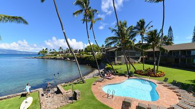 Photo for SPECIAL-Oceanfront Luxury On Honokeana Cove-Fully renovated, 2 Bed/2 Bath