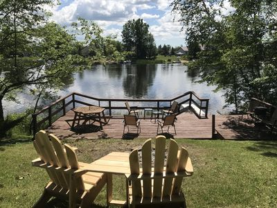 Photo for perfect cabin for your getaway in Sugar Springs on Lake Lancer