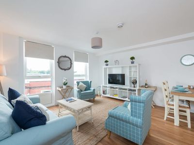 Photo for Central Flat with Parking, 2 bedrooms & 2 bathrooms