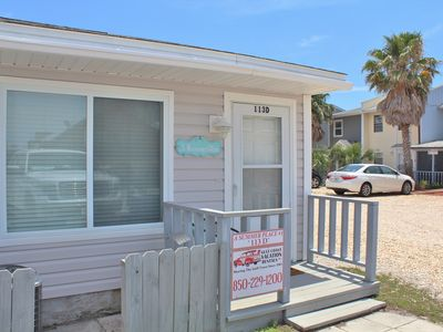 Photo for A Summer Place # 1 - 1 Bed / 1.5 Bath Gulf Side Townhome in Mexico Beach