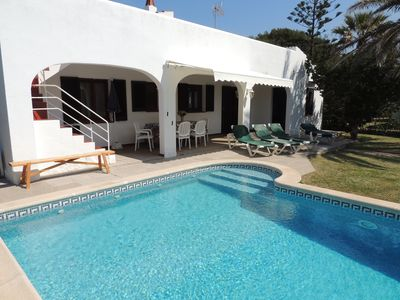 Photo for Popular holiday house with pool near the beach