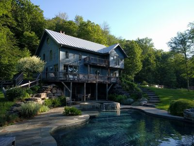 Photo for Spacious, secluded loft home on 20 acres.