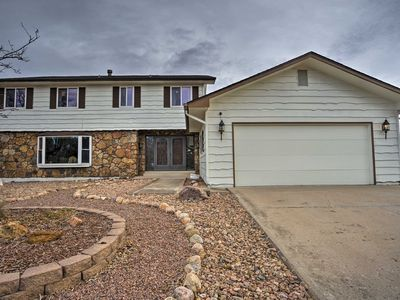 Photo for Colorado Springs Home w/ Big Patio in the Bluffs!