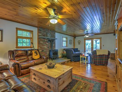 Photo for Elk Mtn Home w/Deck Near Ski Lifts-March Discount!