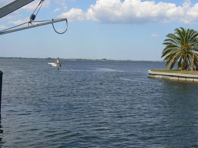 Photo for Stunning Views, Pool, Paradise ! Watch the boats go by ! Dolphin jumping