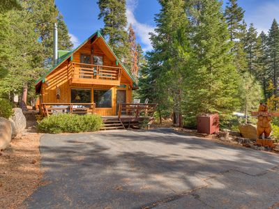 Photo for Cozywood Cabin w/ Hot Tub in Private Setting, close to Tahoe City - From $275