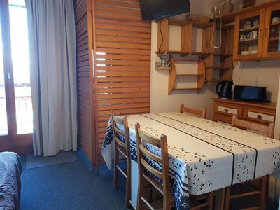 Photo for Apartment Les Arcs 2000, studio flat, 4 persons