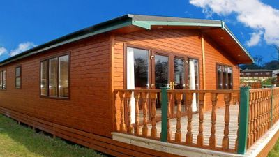 Photo for CAB17 Luxury Cabin on Mulroy Bay in Donegal - Sleeps 6