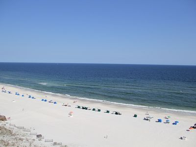 Photo for PP1106 Large Wrap around Balcony 3 Br 2 Ba Gulf Front, Sugar Sands