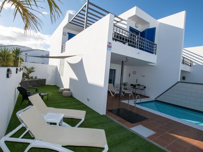 Photo for Casa Sofia is a stunning newly refurbished villa with private pool and sea views