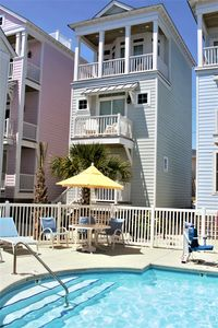 Photo for SEPT SALE - NEW 2 Bedroom House Steps from the Beach and Pool. PERFECT LOCATION!