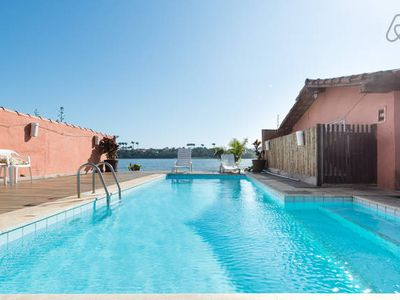Photo for Beautiful beach house with pool, barbecue 200 meters from the beach Geribá