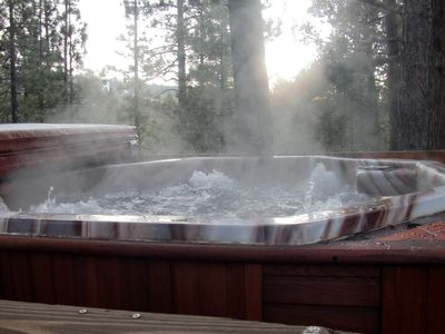 Photo for Awesome Woodsy Cabin, Close to everything. Hot Tub! Big Bear Lake CA