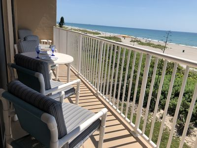 Photo for JUNE-JULY-AUGUST DATES AVAILABLE-BEST LOCATION ON COCOA BEACH-DIRECT OCEANFRONT