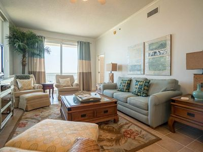Photo for 2nd Floor Gulf Front Condo w/ Beach Setup Included, Near Entertainment