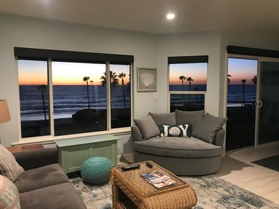 Photo for Panaramic Oceanview Beach Front Condo- recently renovated!