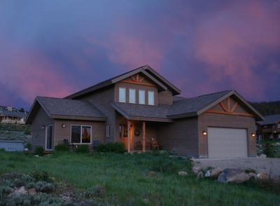 Amazing Night Sky - Front of House