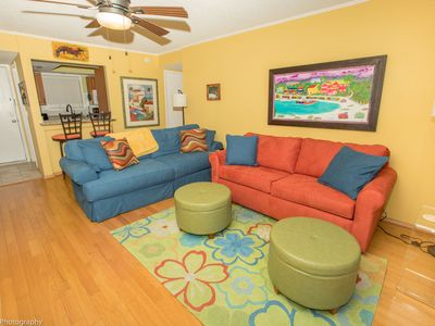 Photo for Beautiful  2nd Floor 1 BR on the canal at Sandpiper Cove  -book early for this limited availability
