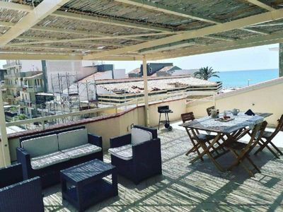 Photo for Holiday apartment Marina di Ragusa for 4 - 6 persons with 2 bedrooms - Penthouse holiday apartment