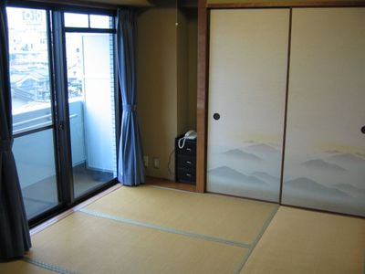 The Tatami room is certainly cozy and makes you feel a traditional living style.