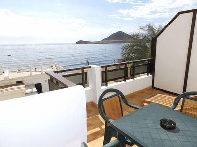 Photo for 2 bedroom Penthouse with terrace and sea views located 50 mts. from beach