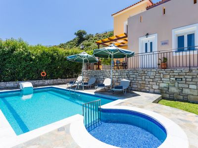 Photo for Villa Eros, Serenity & Nature!Close to the beach and amenities! BBQ facilities!