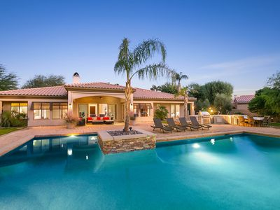 Photo for 'Sunset Canyon' 5 BR Villa with Private Pool & Spa!