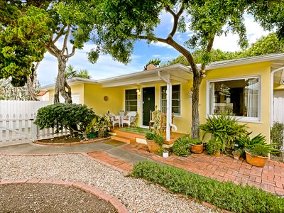 Photo for Beach Cottage w/ Outdoor Living, Walk to Beach + More