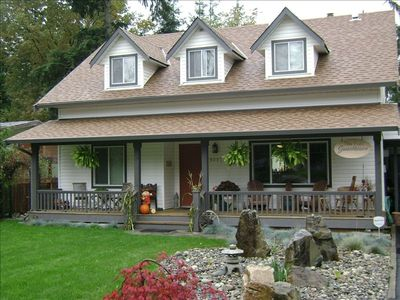 Fort Langley Guesthouse conveniently located in the heart of a historic village.