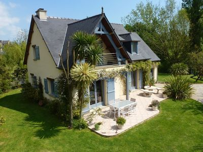 Photo for Cozy Holiday Home in Montebourg with Garden