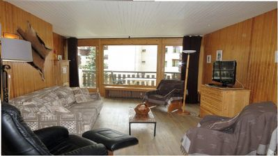 Photo for Val d'Isère Apartment center, 6 people 80m²