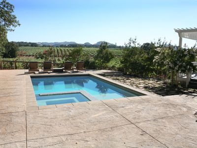 Photo for Wine Country Luxury surrounded by vineyards! Top rated Healdsburg property*