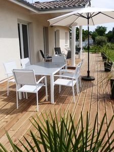 Photo for Nice house with terrace in Lege Cap Ferret