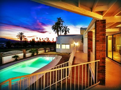 Photo for DATES AVAILABLE! ON GOLF COURSE, BEAUTIFUL POOL & VIEWS PLUS RV/BOAT GARAGE!