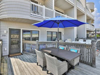 Photo for Great Oceanfront Location! Amazing Sunrise Views!Beach Access Steps Away!!