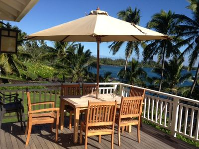 Photo for Beautiful Oceanfront Cottage At Hana Bay
