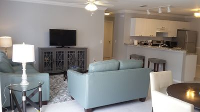 Has a open floor plan where the Living & Dining areas flow together!