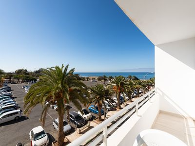 Photo for Apt. 7 Next to the Beach + Terrace w / Seaviews