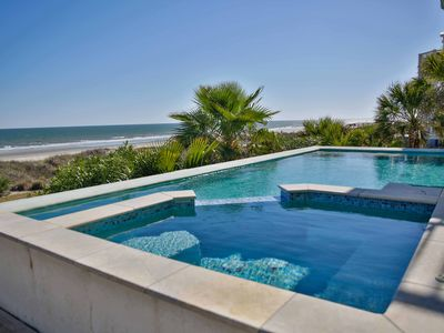 Luxury Oceanfront Beach House w/Infinity-Edge Pool! Can't beat location and view!