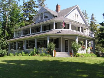Photo for Large Victorian on 4 Acres Overlooks Frenchman's Bay, Provides Perfect Retreat
