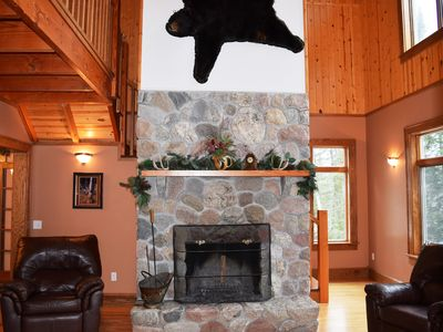 Photo for Gorgeous Lake Lodge Escape! Jacuzzi*Deck*Wifi*Campfires*PingPong*Sunsets*Quiet