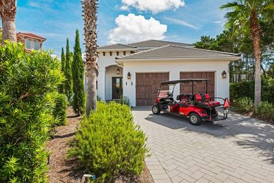Golf Cart for Convenience
