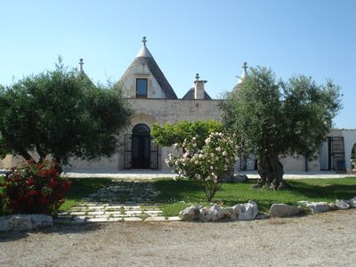 Photo for Trullo Padronale in Apulian countryside