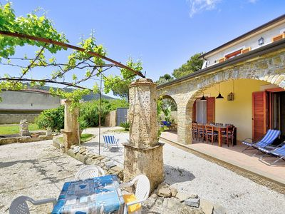 Photo for Villa Deneria: A characteristic and welcoming cottage surrounded by the greenery, with Free WI-FI.