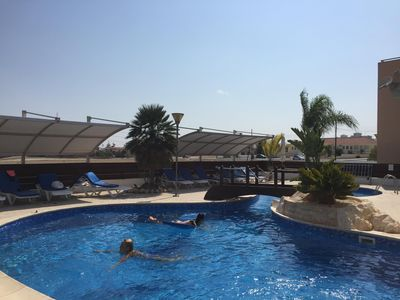 Photo for Large Apartment With Shared Pool, In Security Gated Complex
